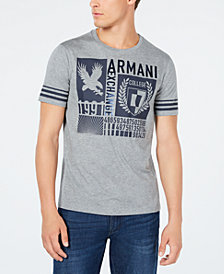 A|X Armani Exchange Men's Varsity Graphic T-Shirt