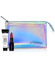 Receive a Free Makeup Bag and 2 Trial-Size Samples with any Smashbox Lip purchase