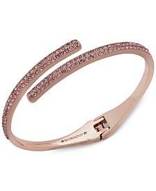 Givenchy Crystal Bypass Bangle Bracelet