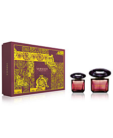 Versace 2-Pc. Crystal Noir Gift Set