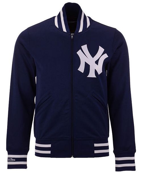 c7dafd268 ... Jacket  Mitchell   Ness Men s New York Yankees Authentic Full-Zip ...