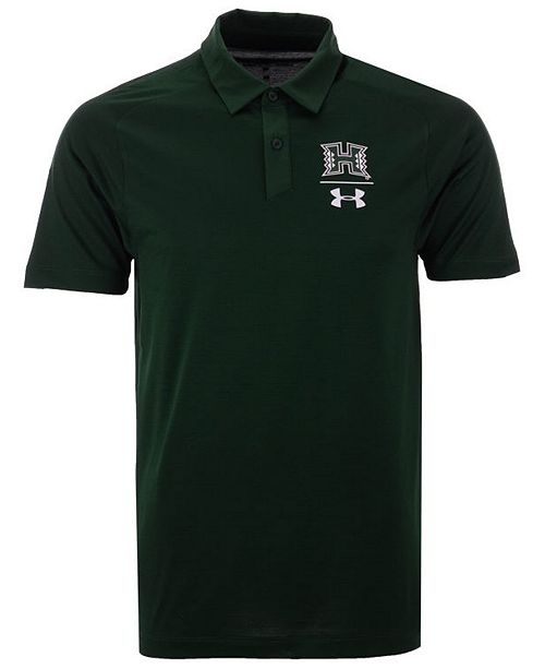 fcd69cc509b Under Armour Men s Hawaii Warriors Pinnacle Polo - Sports Fan Shop ...