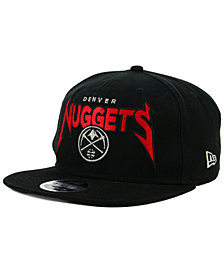 New Era Denver Nuggets 90s Throwback Groupie 9FIFTY Snapback Cap