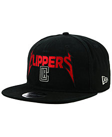New Era Los Angeles Clippers 90s Throwback Groupie 9FIFTY Snapback Cap