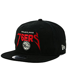 New Era Philadelphia 76ers 90s Throwback Groupie 9FIFTY Snapback Cap