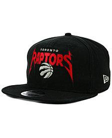 New Era Toronto Raptors 90s Throwback Groupie 9FIFTY Snapback Cap
