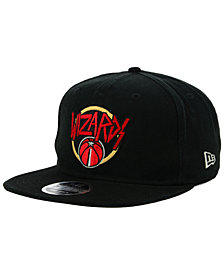 New Era Washington Wizards 90s Throwback Tour 9FIFTY Snapback Cap