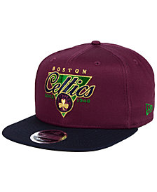 New Era Boston Celtics 90s Throwback 9FIFTY Snapback Cap