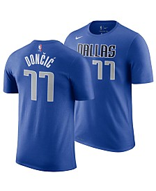 Nike Men's Luka Doncic Dallas Mavericks Icon Player T-Shirt