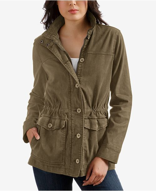 83f0c56e7 Lucky Brand Cargo Jacket   Reviews - Jackets   Blazers - Women - Macy s