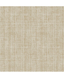 Ramie Linen Peel and Stick Wallpaper