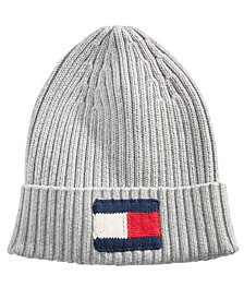 Tommy Hilfiger Men's Ribbed Logo Hat