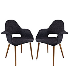 Modway Aegis Dining Armchair Set of 2