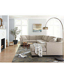 Elliot II Fabric Sectional Collection