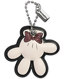 COACH Minnie Mouse Glove Boxed Hangtag