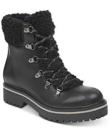 Tommy Hilfiger Women's Ron Lace-Up Winter Boots