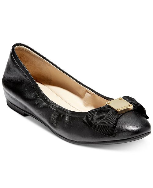 c0c800b5804 Cole Haan Tali Bow Ballet Flats   Reviews - Flats - Shoes - Macy s