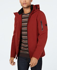 Calvin Klein Men's Soft Shell Jacket with Fleece Lining