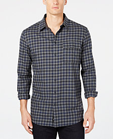 DKNY Men's Plaid Shirt
