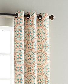 "Aldrich 37"" X 84"" Pair of Grommet Top Curtain Panels"