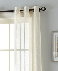 "Linden 37"" X 84"" Pair of Grommet Top Curtain Panels"
