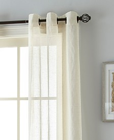 "Linden 37"" X 84"" Pair of Grommet Top Curtain Panels"