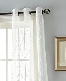 "Summer 37"" X 84 4 Pack of Grommet Top Curtain Panels"