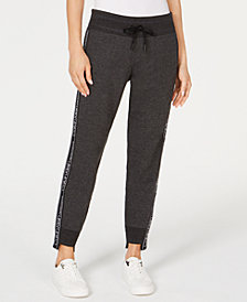 Calvin Klein Performance Fleece Step-Hem Joggers