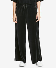 DKNY Sport Relaxed Velour Pants