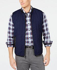 Ryan Seacrest Distinction™ Men's Quilted Vest, Created for Macy's