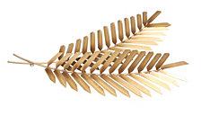 Artisan Golden Palms Wall Art, Quick Ship