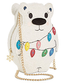 Betsey Johnson Snow Bear Crossbody