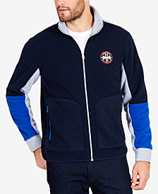 Nautica Men's Colorblocked Zip-Front Jacket