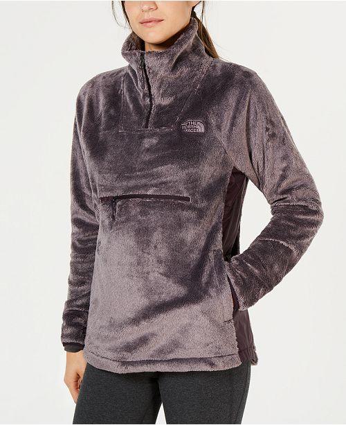 85cb19bb9 The North Face Osito Hybrid Fleece Quarter-Zip Jacket & Reviews ...