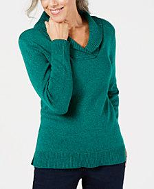Karen Scott Shawl-Collar Sweater, Created for Macy's