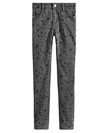 Epic Threads Big Girls Splatter-Print Jeans, Created for Macy's
