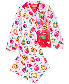Shopkins Little & Big Girls 2-Pc. Printed Pajama Set