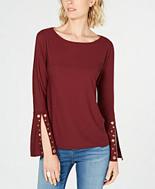 I.N.C. Petite Embellished Top, Created for Macy's