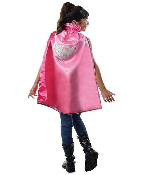 BuySeasons Supergirl Deluxe Girls Cape