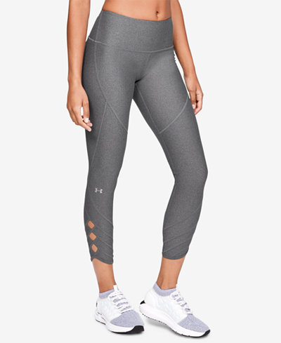 Under Armour HeatGear® High-Rise Cutout Ankle Leggings