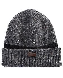 Barbour Men's Cuffed Ribbed Beanie