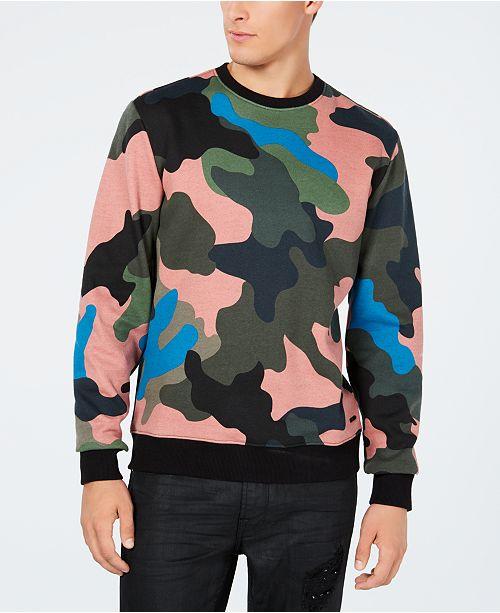 GUESS Men s Alameda Camouflage Sweatshirt  GUESS Men s Alameda Camouflage  Sweatshirt ... cff758cdf
