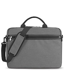 BLANKSLATE by Solo Men's Slim Top-Load Briefcase