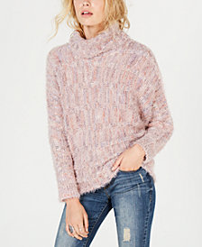 American Rag Juniors' Dolman-Sleeve Knit Sweater, Created for Macy's