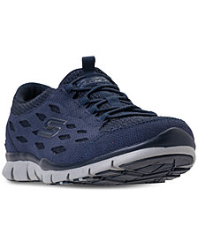 Skechers Women's Gratis - Cozy N Carefree Walking Sneakers from Finish Line