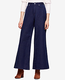 Free People Super High-Rise Wide-Leg Jeans