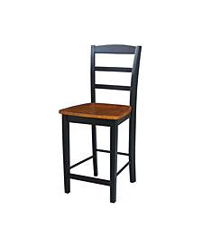 "Madrid Counterheight Stool - 24"" Seat Height"