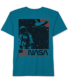 Jem Big Boys Space Walker Graphic Cotton T-Shirt