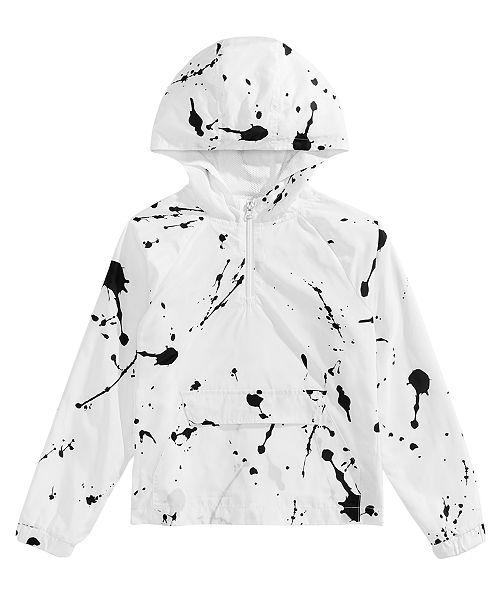 e60758c14c9c Jaywalker Big Boys Paint-Splatter Pullover Windbreaker Jacket ...