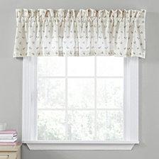 Laura Ashley Harper Green Window Valance